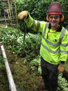 Tree Heritage finds and rehomes a grass snake