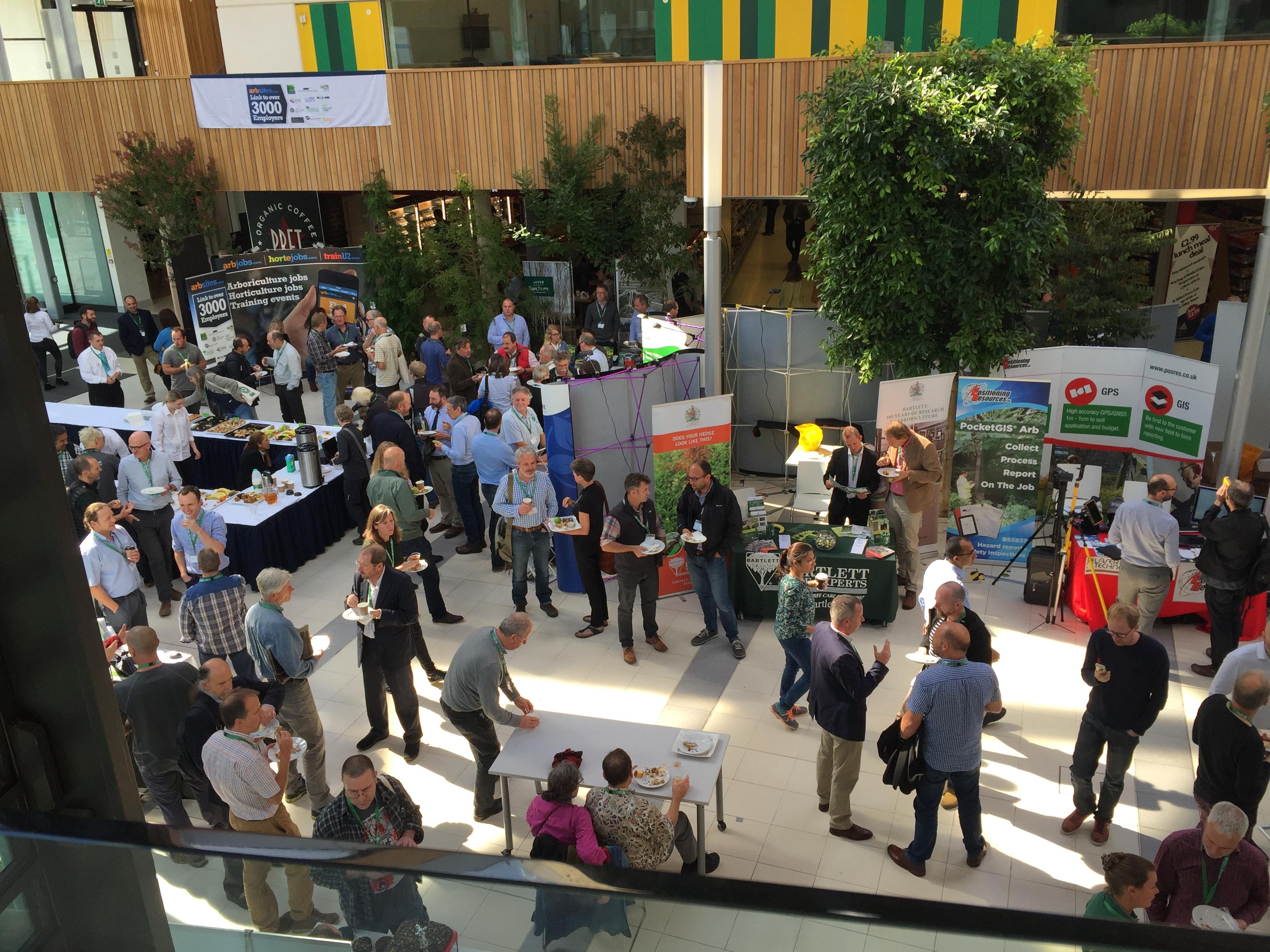 Arboricultural-Association-Conference-delegates